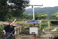 农业气象站用于苹果种植!