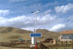 农业气象站在示范区应用