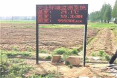 农业气象站助力黄芪种植!